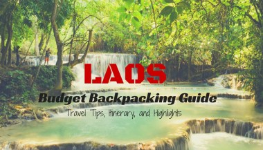 laos backpacking guide itinerary budget tips and highlights