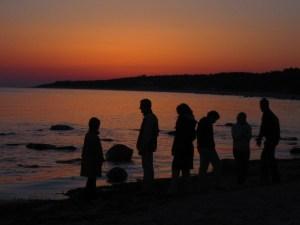 Image for Jones Myers Blog - Family on beach