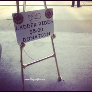 Fire Truck Ladder Rides!