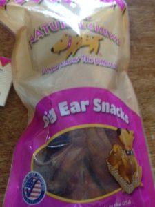 Pig Ear Snacks from Jones Natural Chews