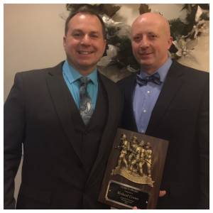 Rich Craver and PJ Champagne Chief's Award