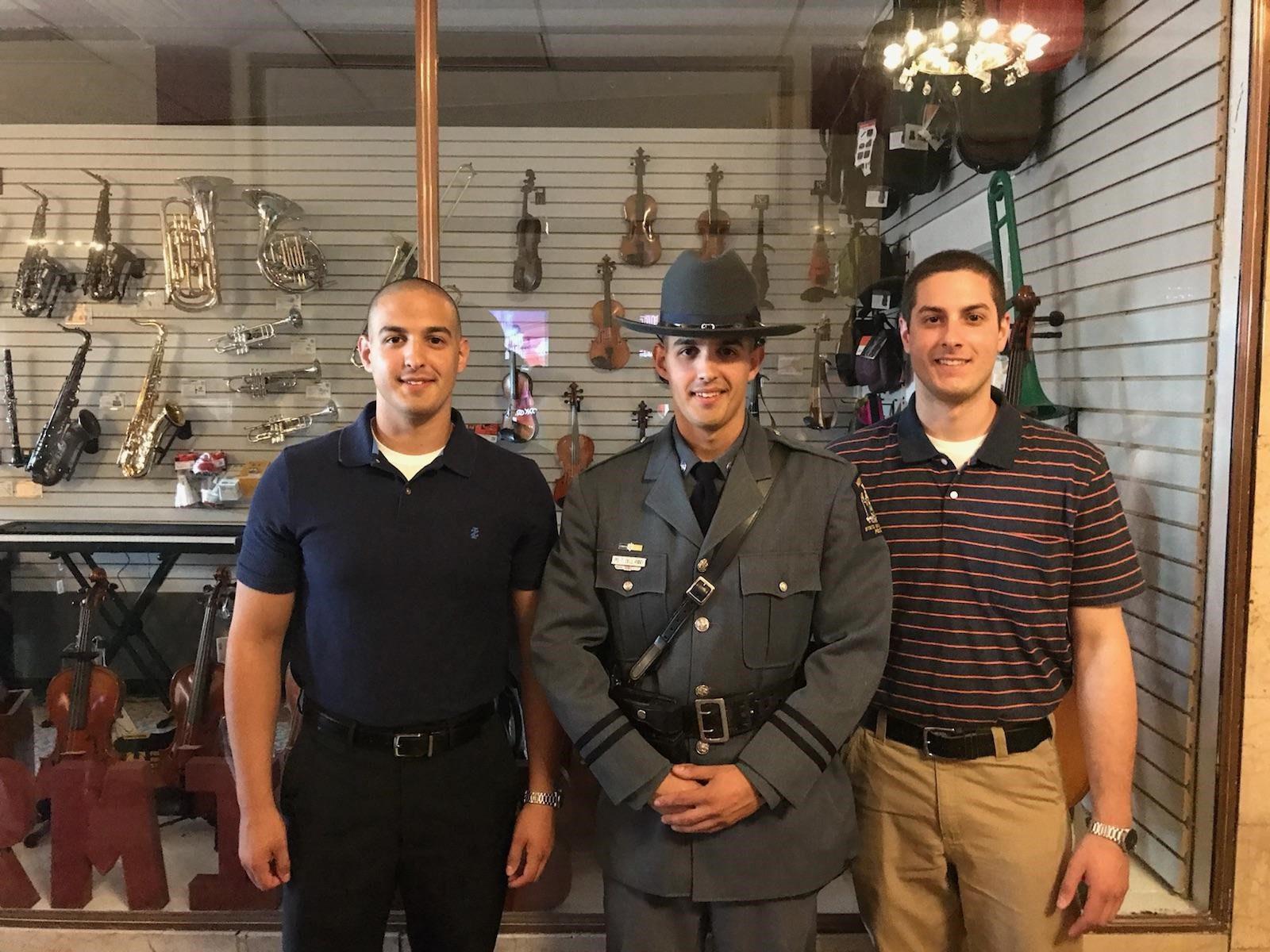 Congratulations Officer Tom Dell'Anno