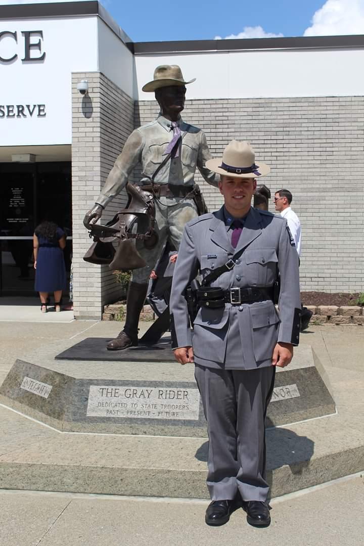 Congratulations NYS Trooper Dan Beaudoin