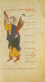 iconografia raffigurante un giullare
