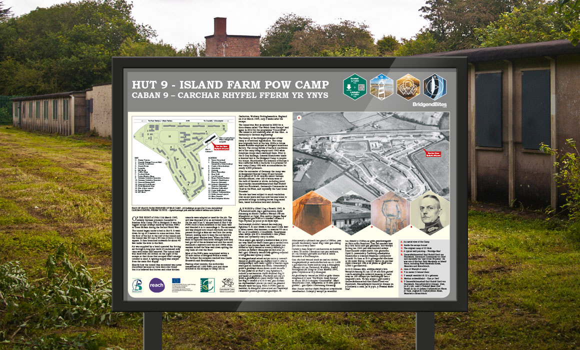 Hut 9 - Island Farm POW Camp, Bridgend