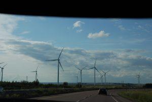 #Canada150 giant windmills in Canada