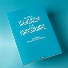 Buchveröffentlichung; herausgegeben vom Anhaltischen Theater Dessau; erschienen im Jonitzer Verlag, Dessau