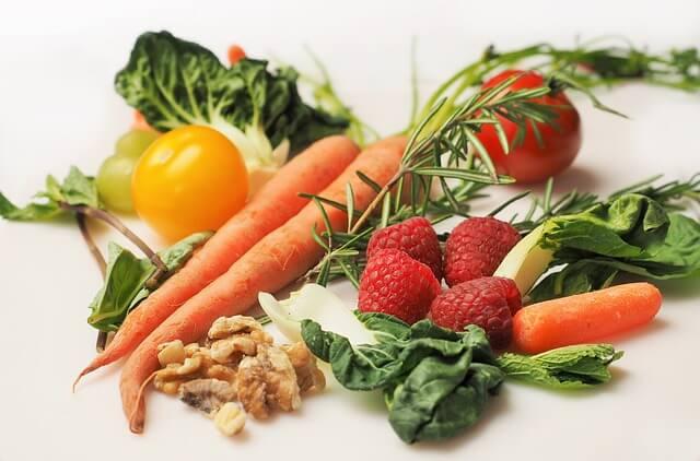 zdrowe owoce i warzywa