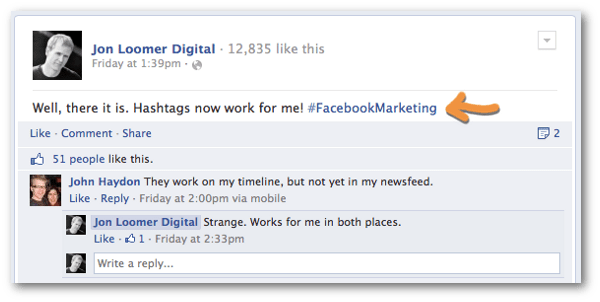 facebook hashtag Facebook Hashtags for Brands: What You Need to Know