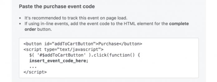 Facebook Pixel Events