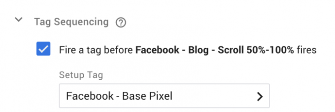 Facebook Pixel Event Scroll Depth