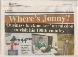 business backpacking jonny blair