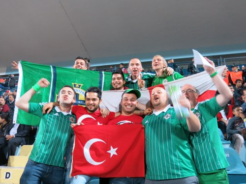With the GAWA in Turkey. Adana, 2013.