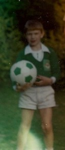 My first ever Northern Ireland kit and ball.
