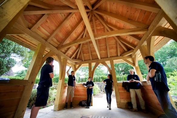 oak framed outbuildings