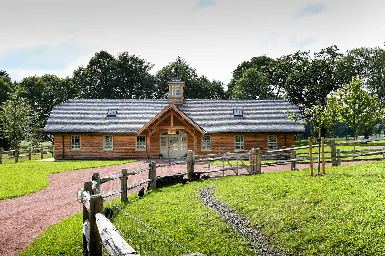 cheshire oak buildings