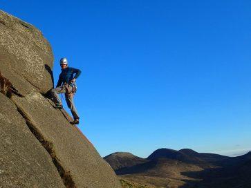 rock climbing evening 1