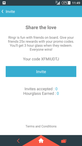 ringr app offer refer and earn