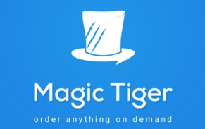 Magic tiger app Offers logo