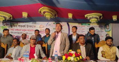চৌদ্দগ্রামে মুজিববর্ষ উপলক্ষে টিভি কাপ ক্রিকেট টুর্নামেন্টের উদ্বোধন