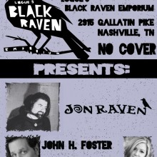 Jon Raven @ The Black Raven Emporium