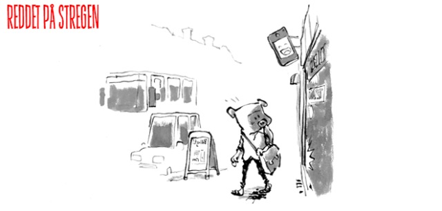 Fattigfin fattig klynk tegneserie