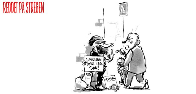 Fattigdom tegneserie