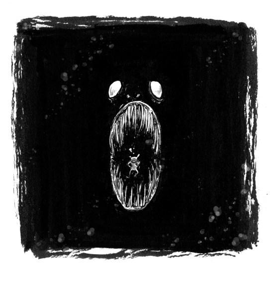 dybet inktober ocean monster
