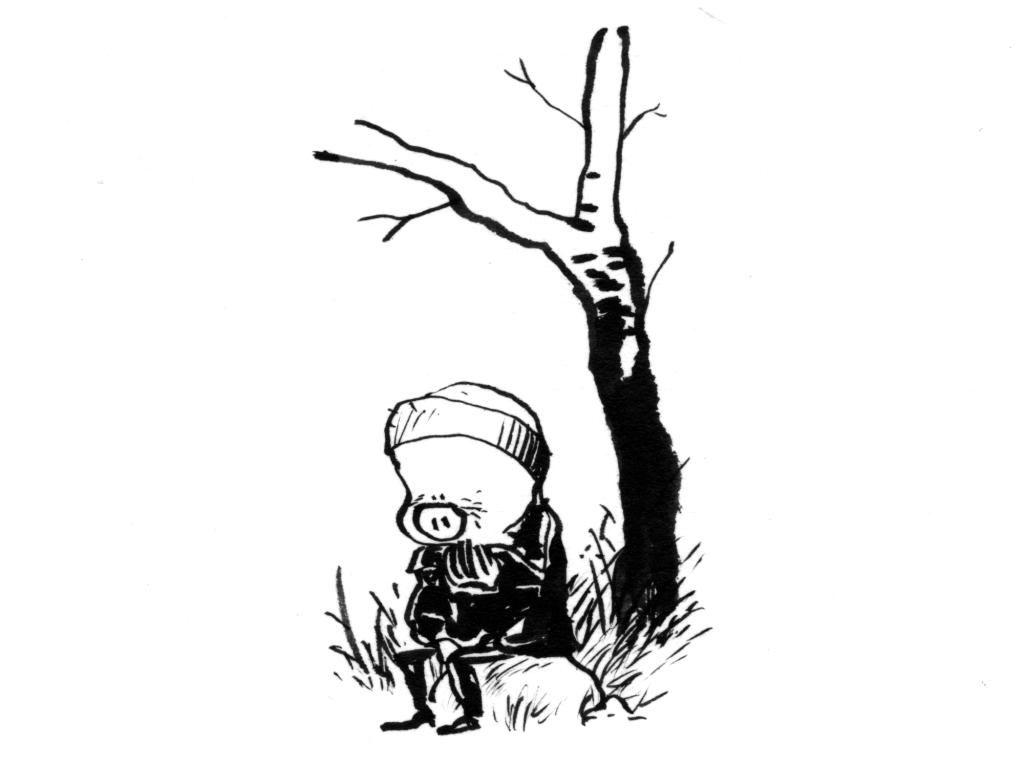 sort/hvid corona tegneserie webcomic