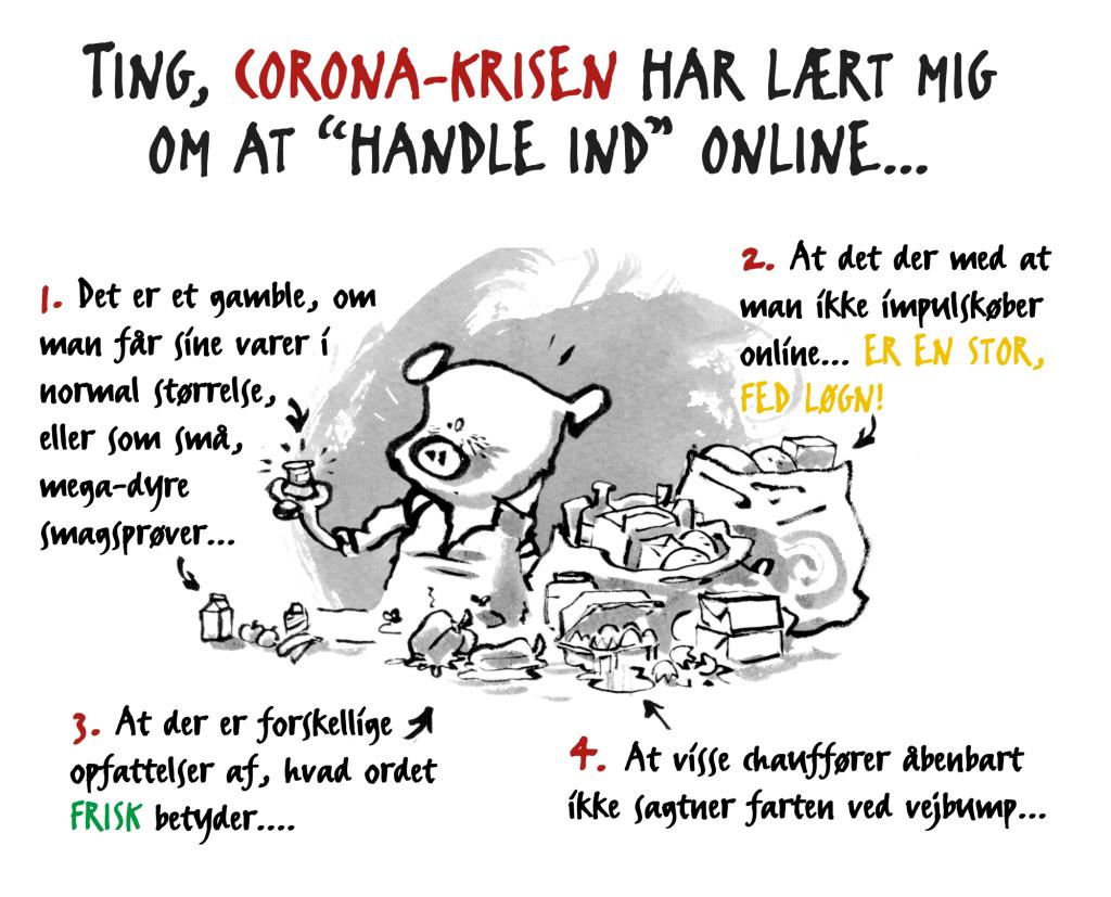 corona online handle ind indkøb