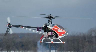 Ace R/C Raptor .50 Nitro-Methanol Helicopter