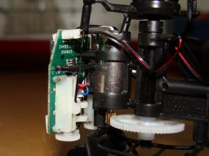 Eflite Blade mSR Power System and All-in-One Board and Servos Angle 2