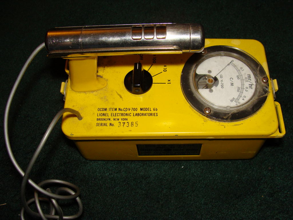 Civil Defense Lionel Cd V 700 Model 6b Geiger Counter Diagram This
