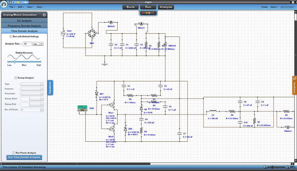 Web Based Circuit Simulation » Jon's Hobbies