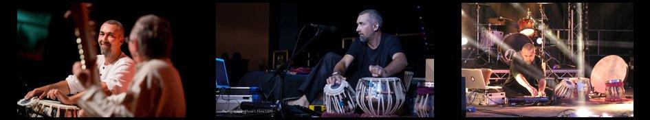 Jon Sterckx, tabla Percussion Stroud, Central-Banner