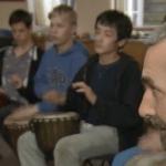 Jon Sterckx - World Rhythm Workshop at Wynstones School