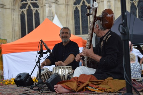 Samswara Sitar & Tabla Indian Music @ 3 Choirs Festival, Gloucester 2019