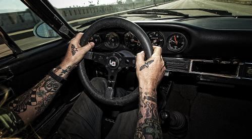 Magnus Walker signature series MoMo Steering Wheel