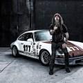 Magnus Walker and his signature 277 Porsche race car
