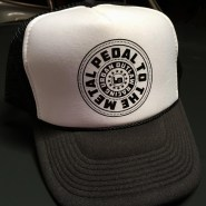 Urban Outlaw black trucker cap.