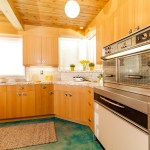 mid century kitchen real estate photography los angeles