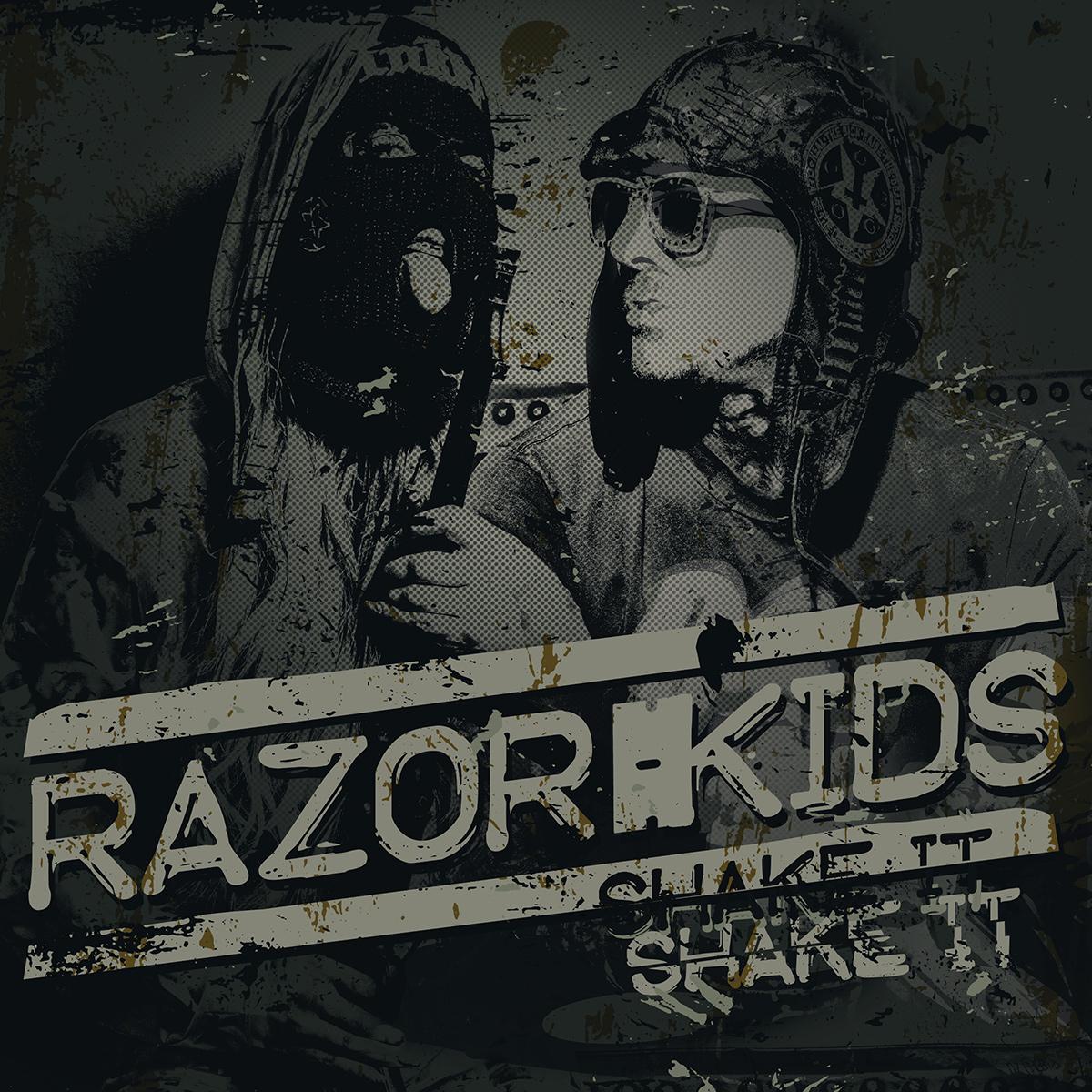 Razor Kids hyperfollow promo for Shake It punk rock single