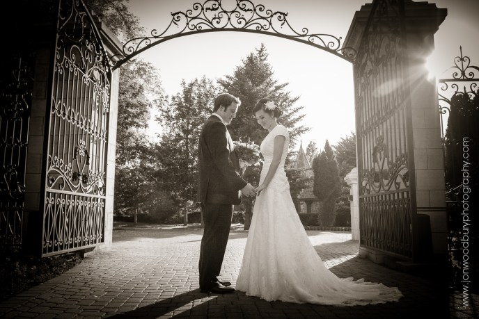 Black & White wedding photography