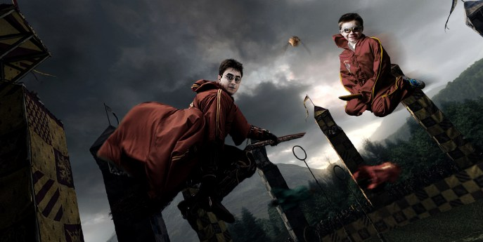 Harry Potter quidditch cosplay