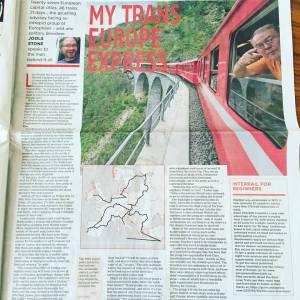 Euro Love Train InterRail article