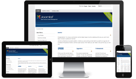 The Joomla 2.5 Front-end