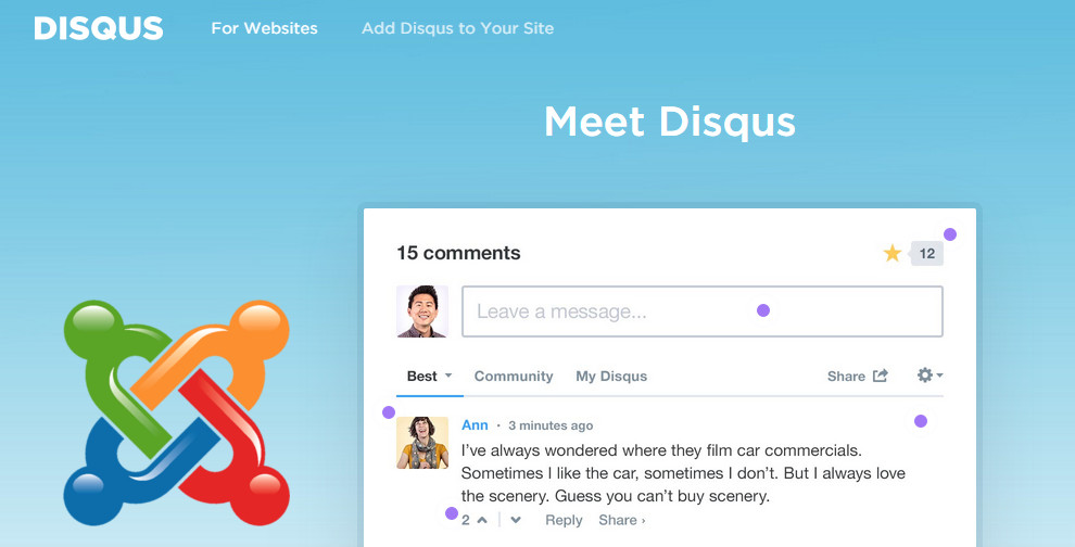 Integrare Disqus in Joomla: ecco come fare