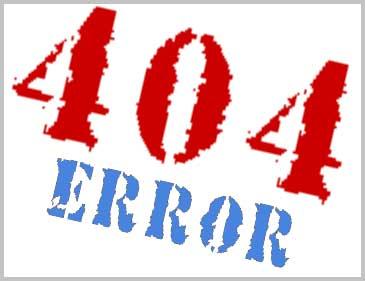Joomla! Errore 404