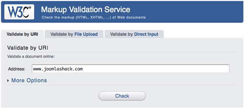 W3C Validation Service