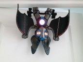 Si vous êtes repéré par Nocto, la chauve-souris enclenche son alarme.